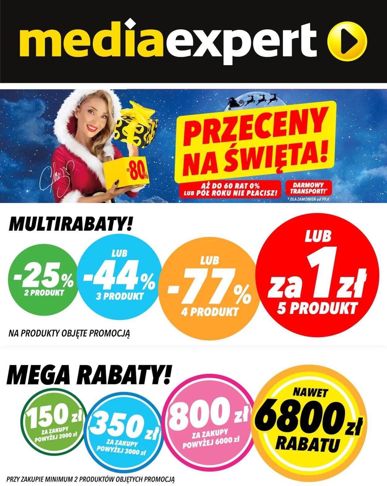 Gazetka promocyjna Media Expert Gazetka Świąteczna 2020 - 02.12-08.12.2020