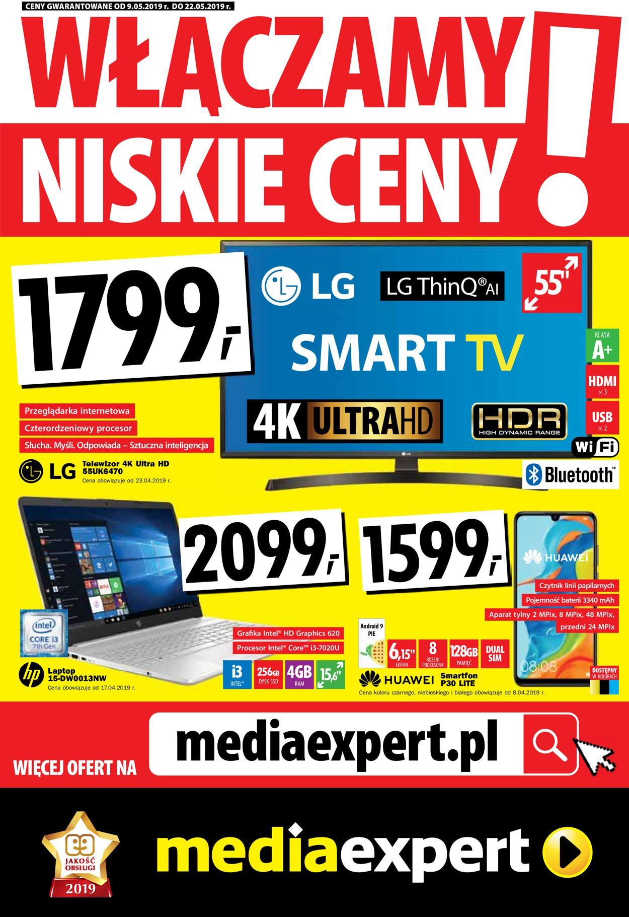 Gazetka promocyjna Media Expert - 09.05-22.05.2019