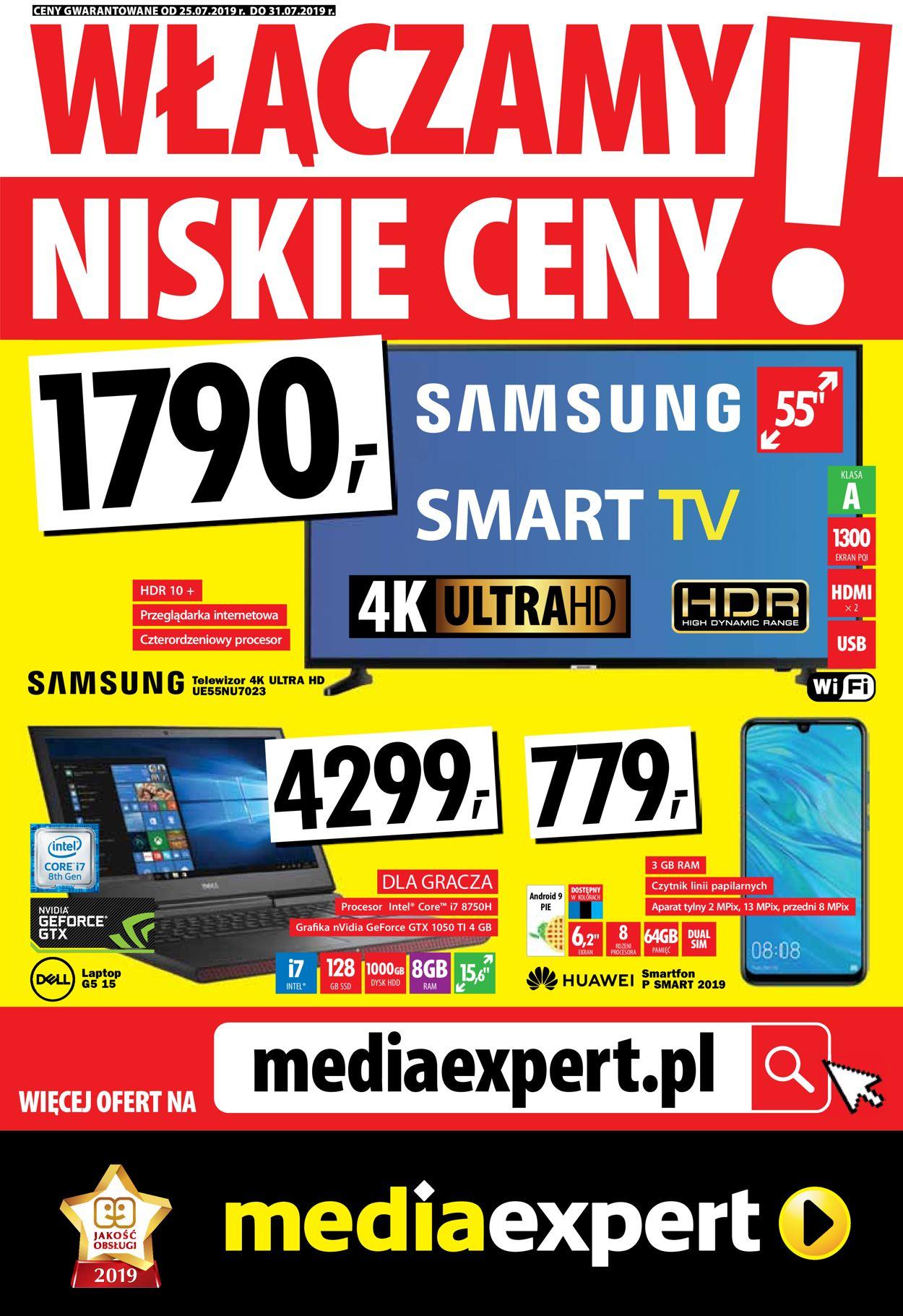 Gazetka promocyjna Media Expert - 25.07-31.07.2019