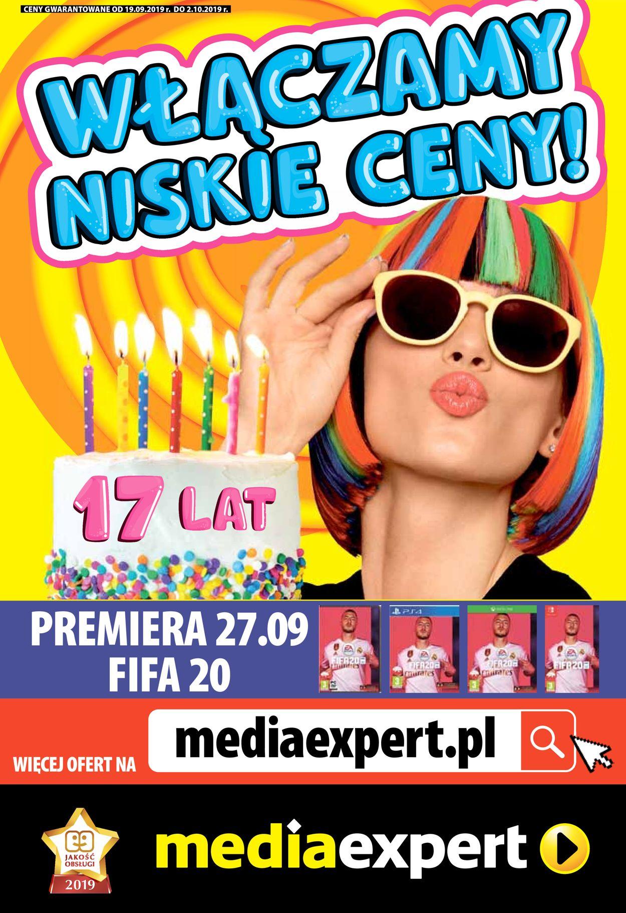 Gazetka promocyjna Media Expert - 19.09-02.10.2019