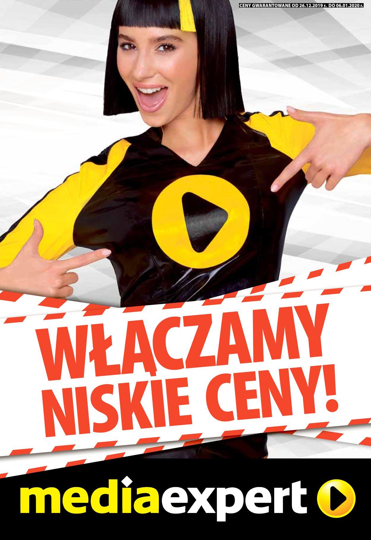 Gazetka promocyjna Media Expert - 26.12-06.01.2020