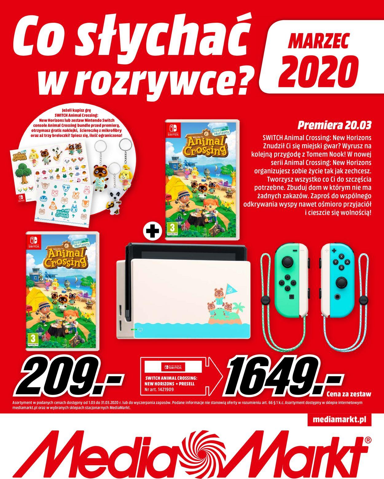 Gazetka promocyjna Media Markt - 01.03-31.03.2020