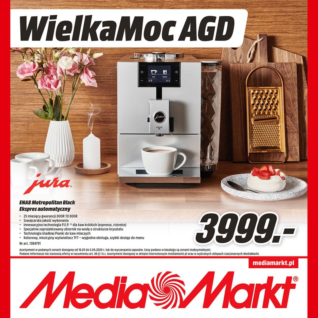 Gazetka promocyjna Media Markt - 16.03-05.04.2020