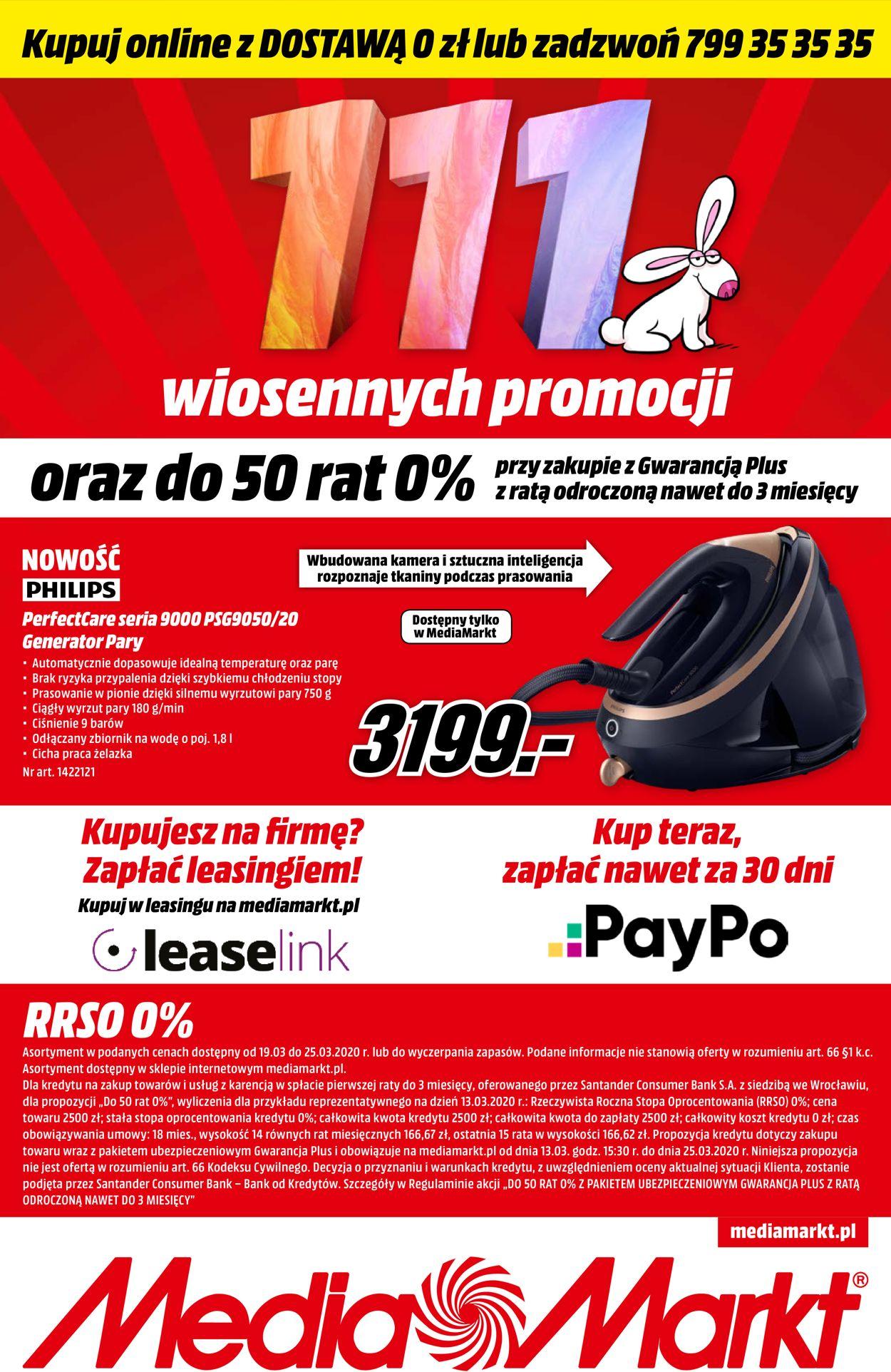 Gazetka promocyjna Media Markt - 19.03-25.03.2020