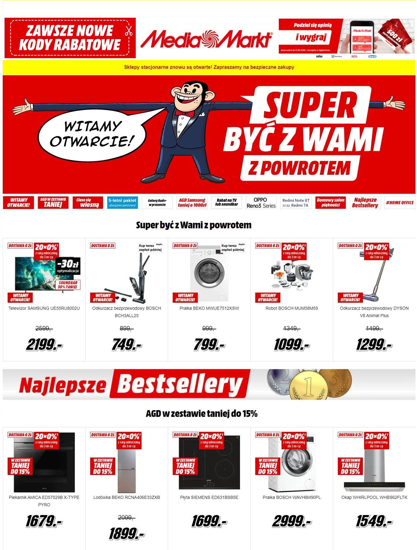Gazetka promocyjna Media Markt - 08.05-15.05.2020