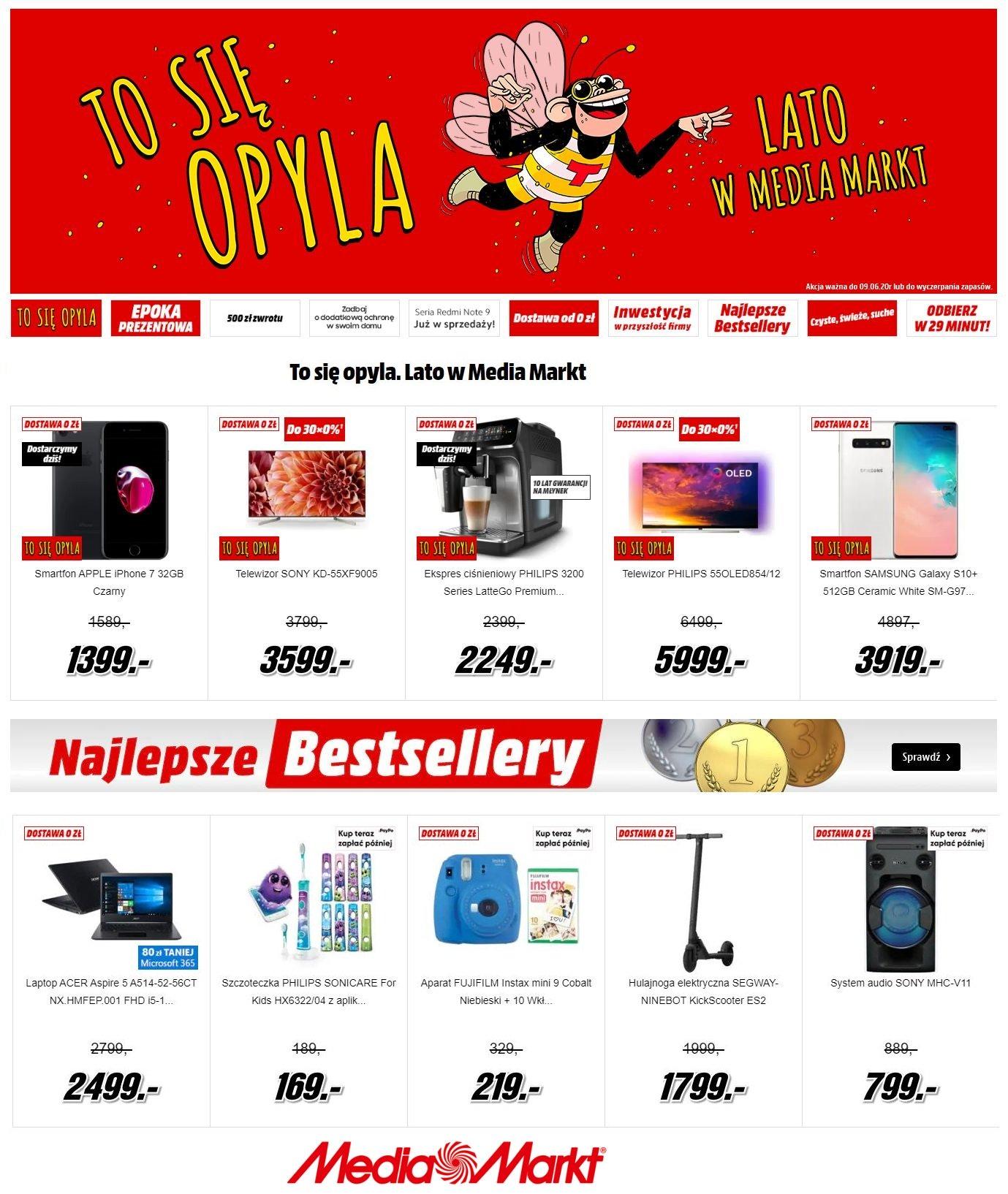 Gazetka promocyjna Media Markt - 01.06-08.06.2020