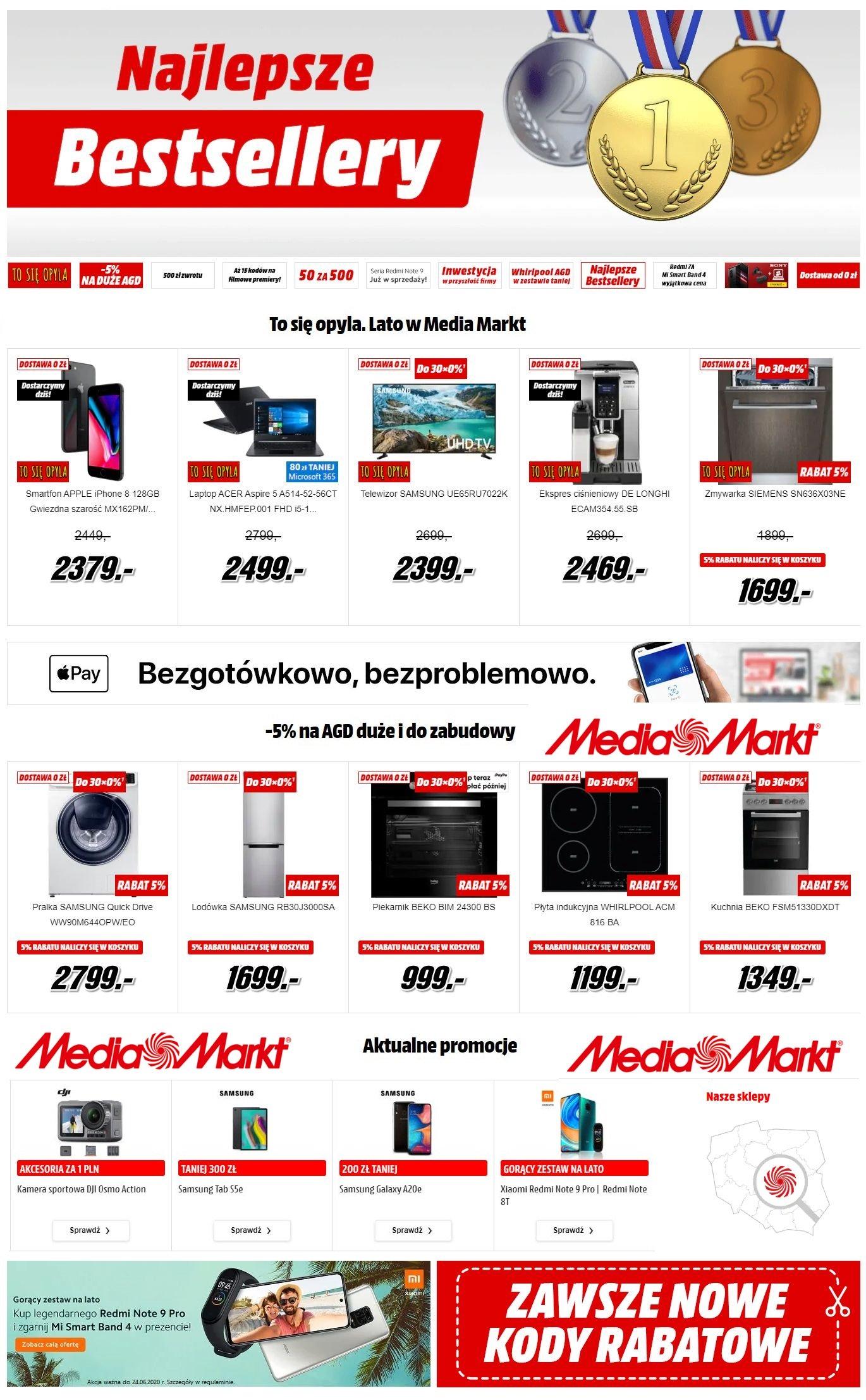 Gazetka promocyjna Media Markt - 09.06-15.06.2020