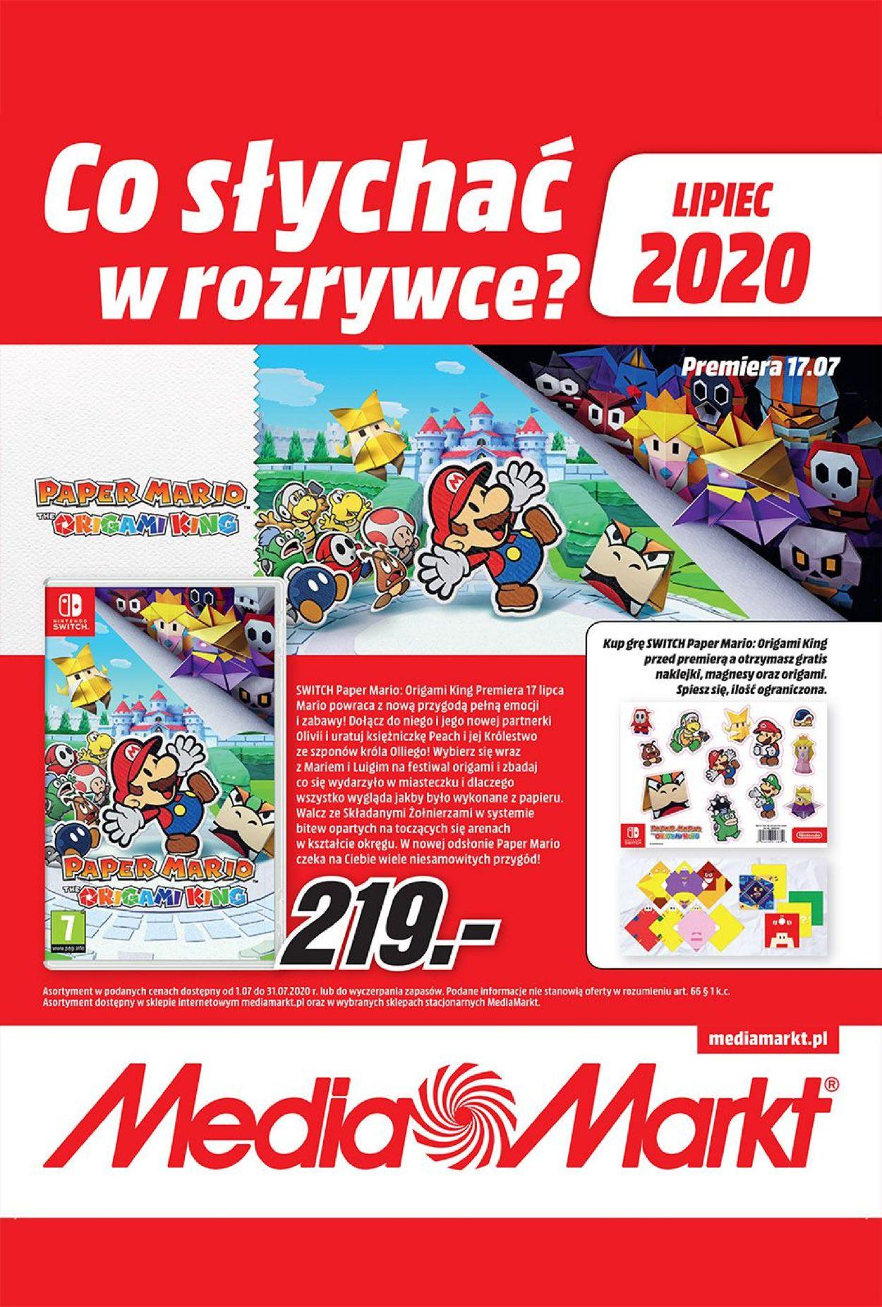 Gazetka promocyjna Media Markt - 07.07-31.07.2020