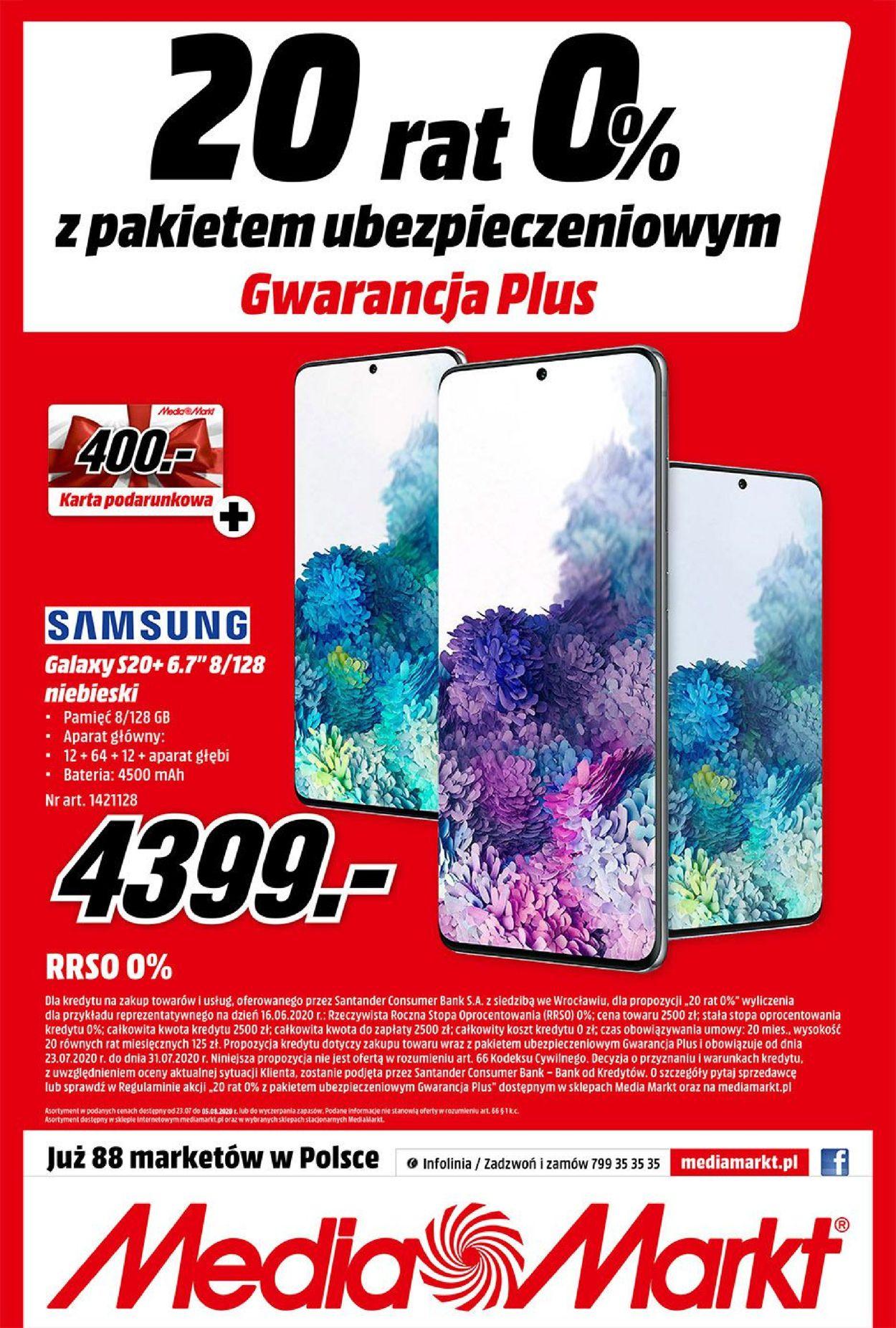 Gazetka promocyjna Media Markt - 23.07-05.08.2020 (Strona 8)
