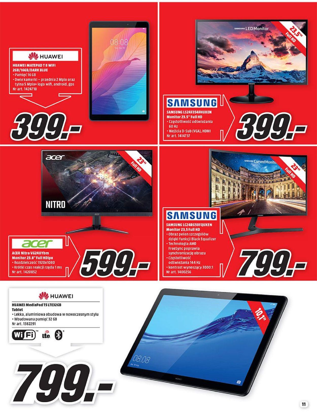 Gazetka promocyjna Media Markt - 01.08-31.08.2020 (Strona 11)