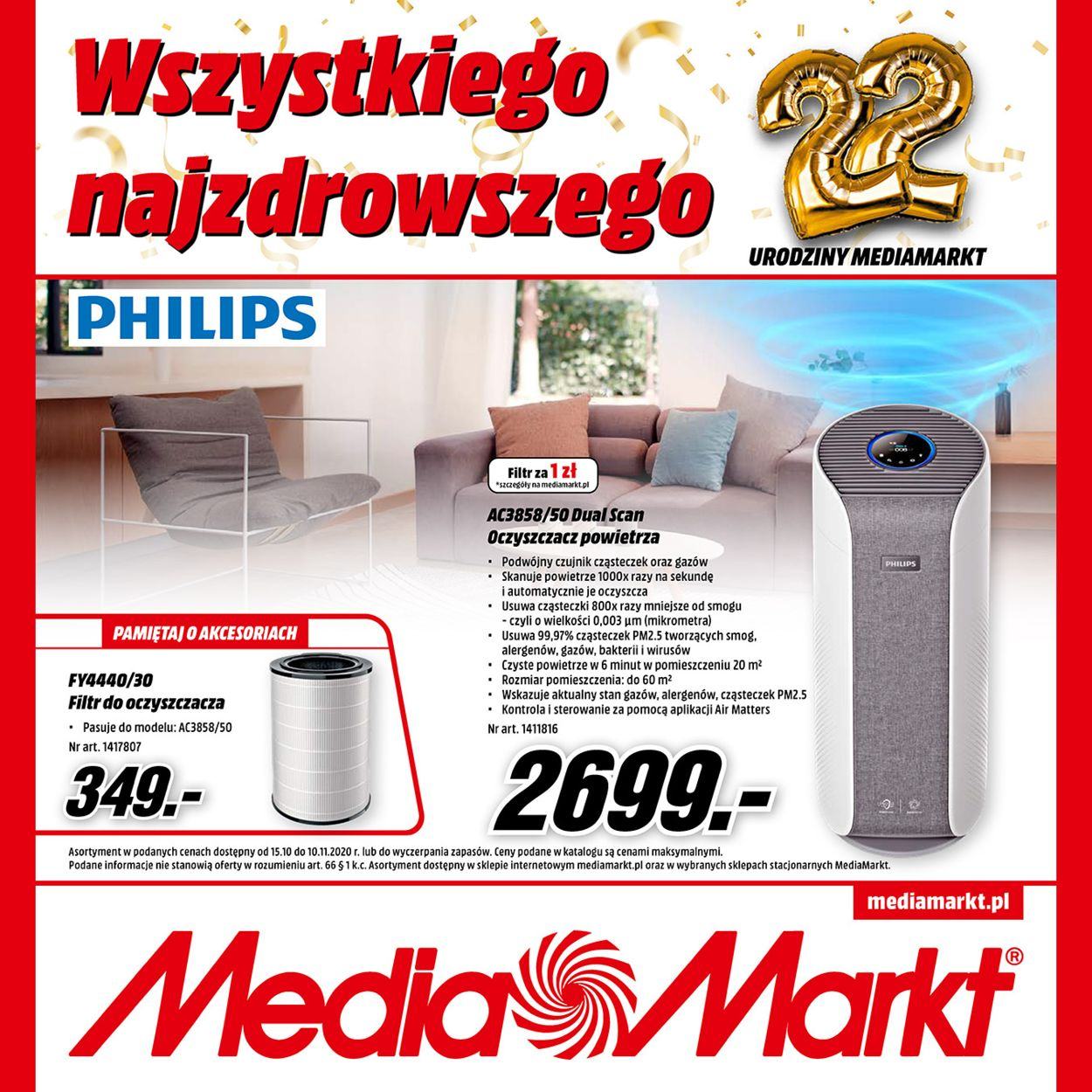 Gazetka promocyjna Media Markt - 15.10-10.11.2020