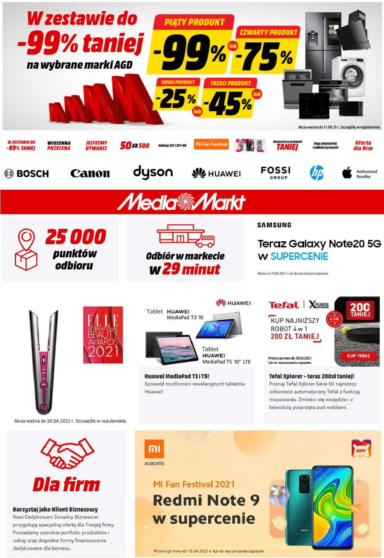 Gazetka promocyjna Media Markt - 09.04-15.04.2021