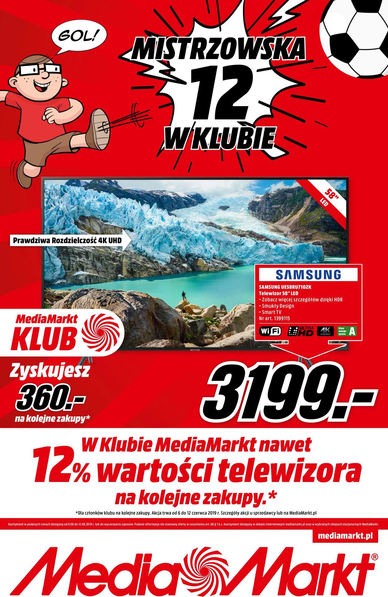 Gazetka promocyjna Media Markt - 06.06-12.06.2019