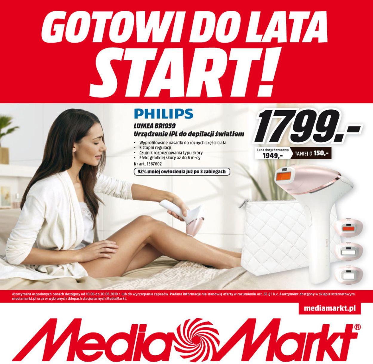 Gazetka promocyjna Media Markt - 10.06-30.06.2019