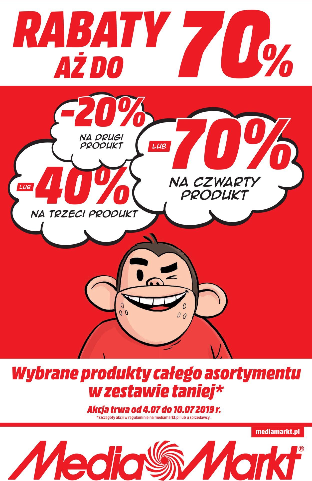 Gazetka promocyjna Media Markt - 04.07-10.07.2019