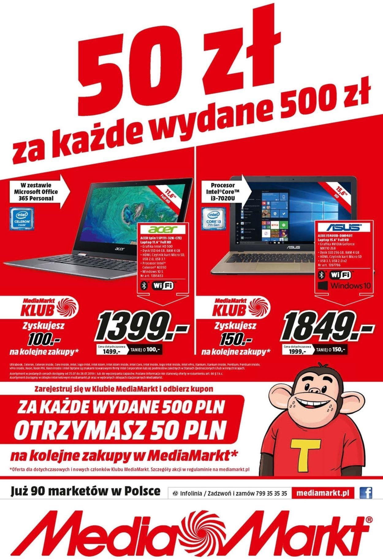 Gazetka promocyjna Media Markt - 25.07-28.07.2019 (Strona 8)
