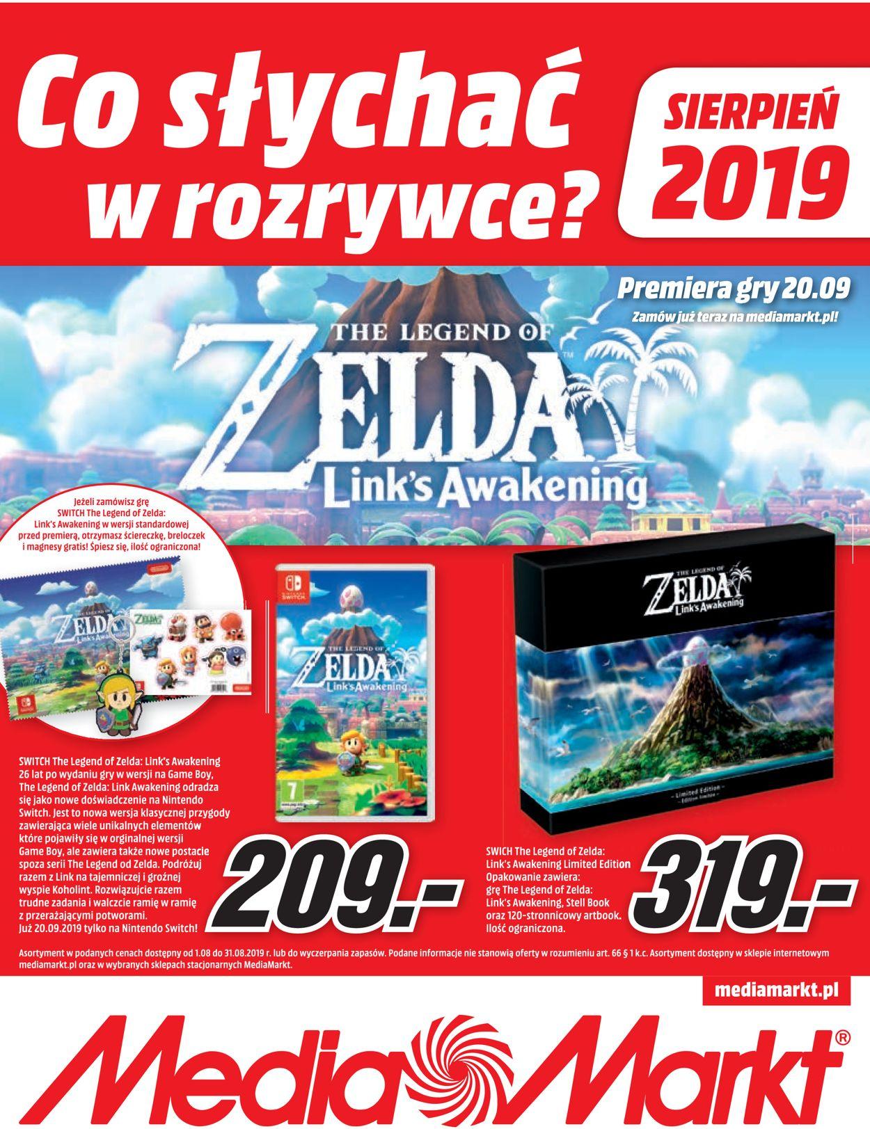 Gazetka promocyjna Media Markt - 01.08-31.08.2019