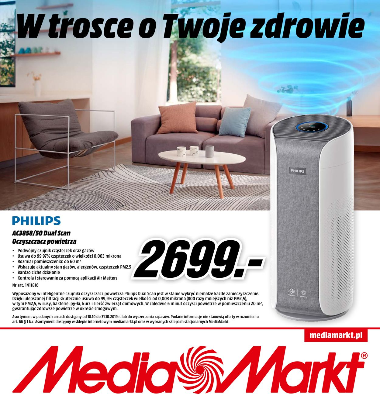 Gazetka promocyjna Media Markt - 18.10-31.10.2019