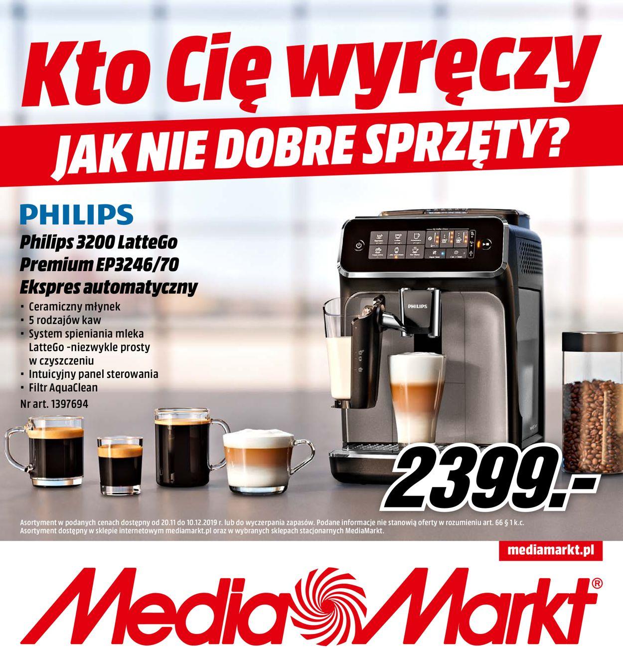 Gazetka promocyjna Media Markt - 20.11-10.12.2019