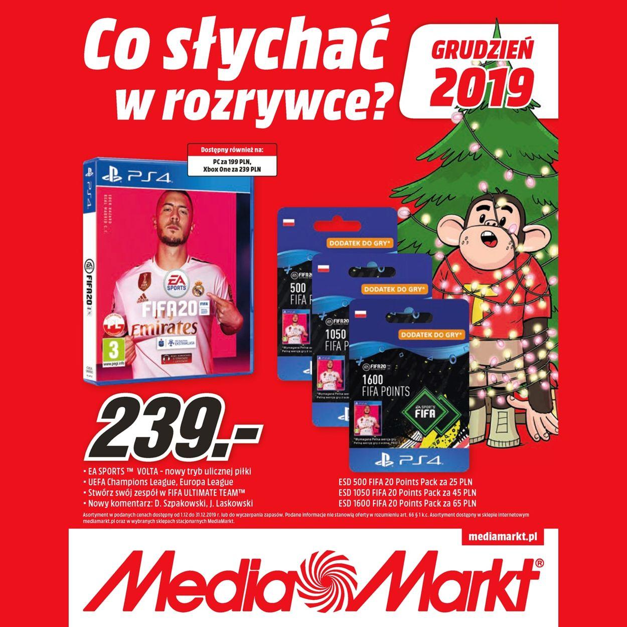 Gazetka promocyjna Media Markt - 01.12-31.12.2019
