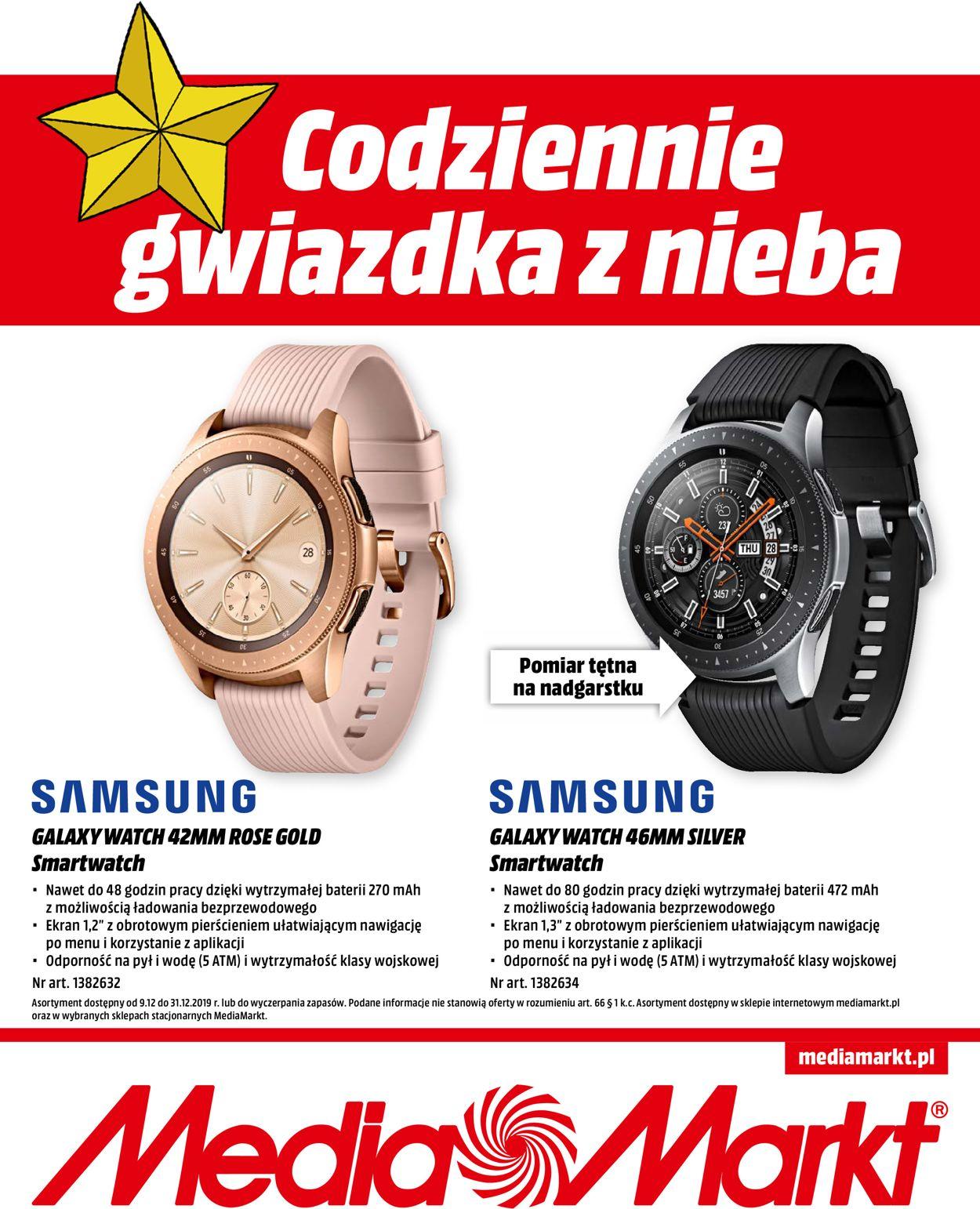 Gazetka promocyjna Media Markt - Gazetka Świąteczna 2019 - 09.12-31.12.2019