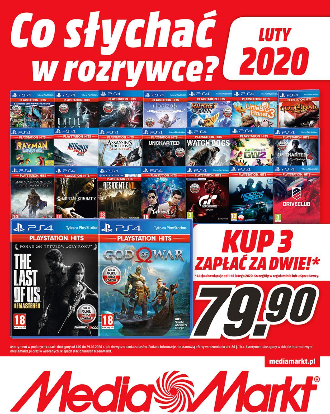 Gazetka promocyjna Media Markt - 01.02-29.02.2020