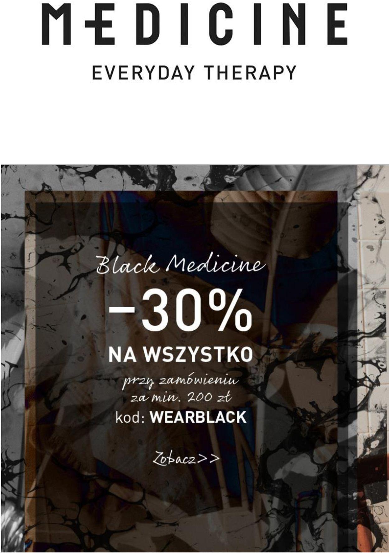 Gazetka promocyjna Medicine Black Friday 2020 - 26.11-02.12.2020