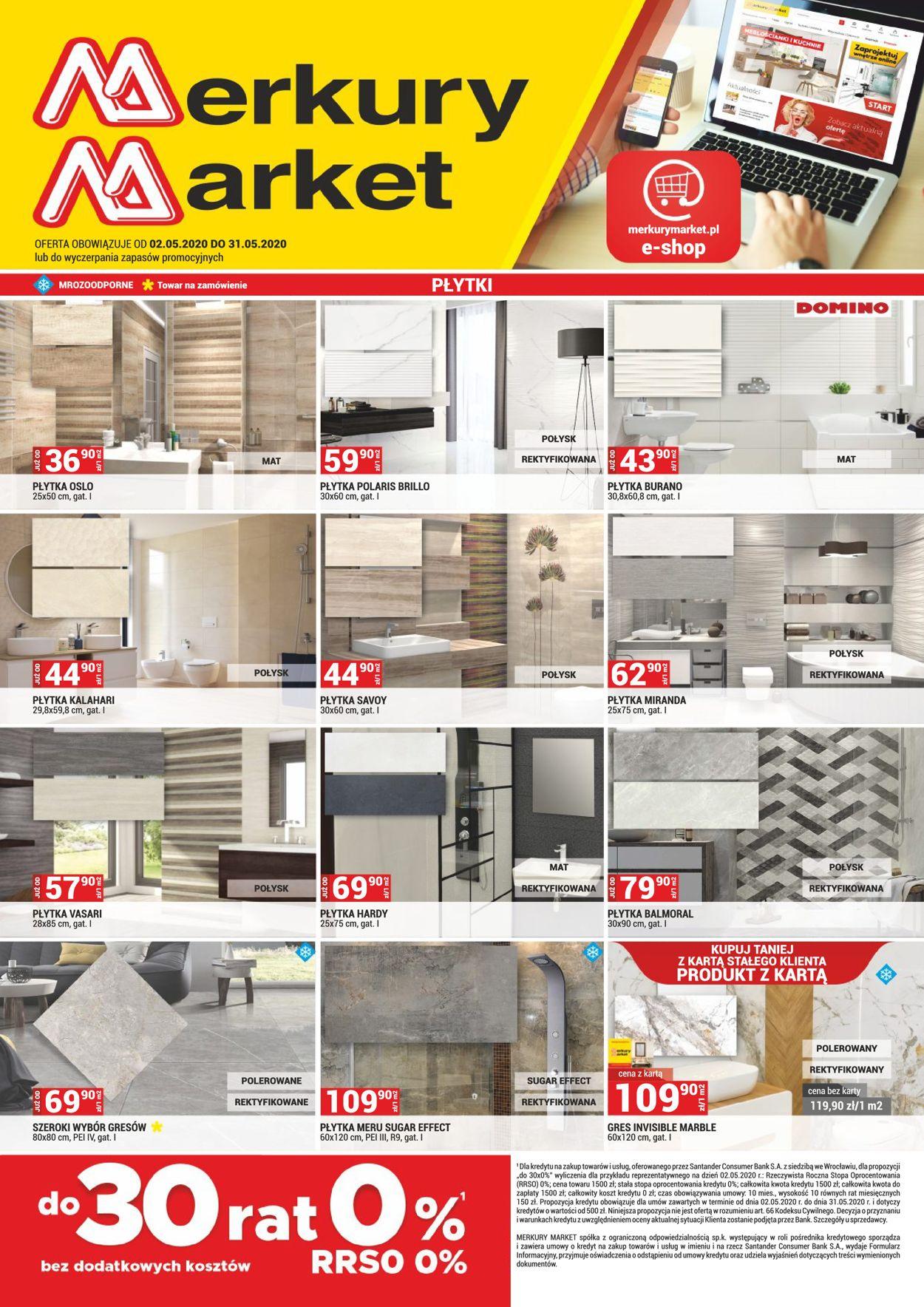 Gazetka promocyjna Merkury Market - 02.05-31.05.2020