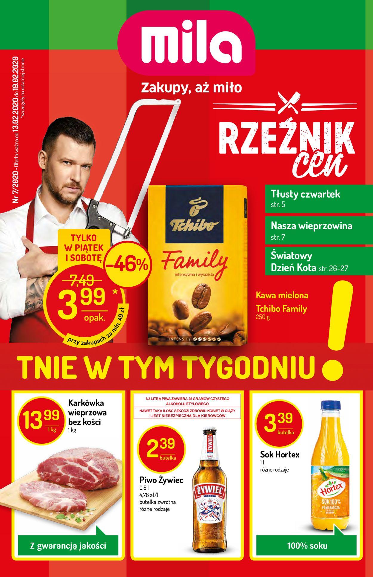 Gazetka promocyjna Mila - 13.02-19.02.2020