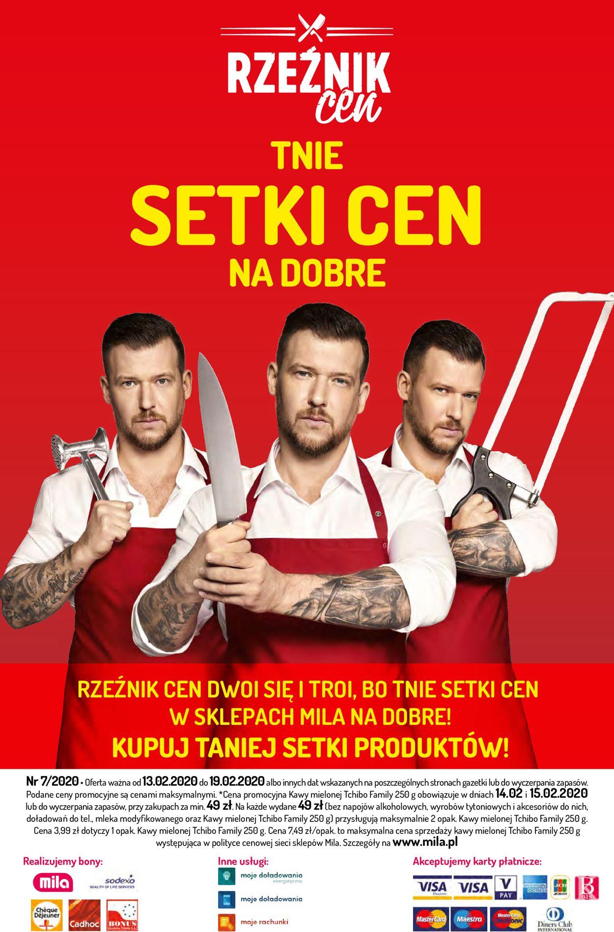 Gazetka promocyjna Mila - 13.02-19.02.2020 (Strona 28)