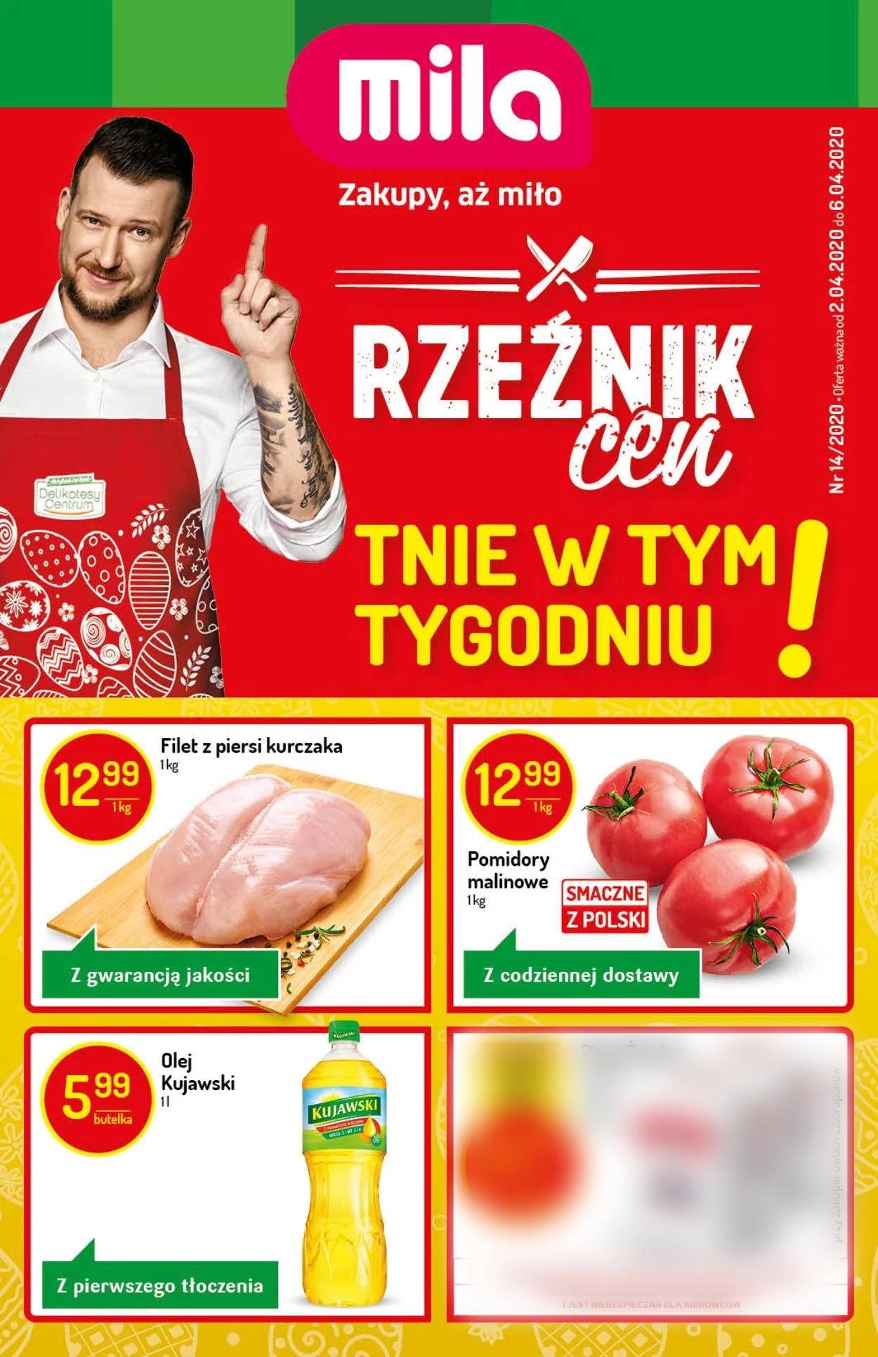 Gazetka promocyjna Mila - 02.04-06.04.2020