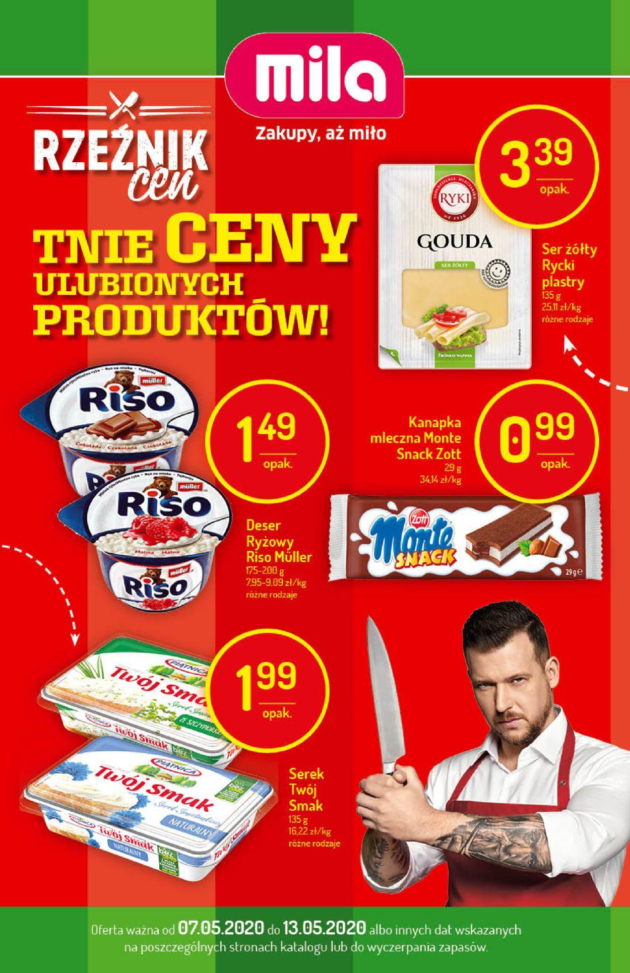 Gazetka promocyjna Mila - 07.05-13.05.2020