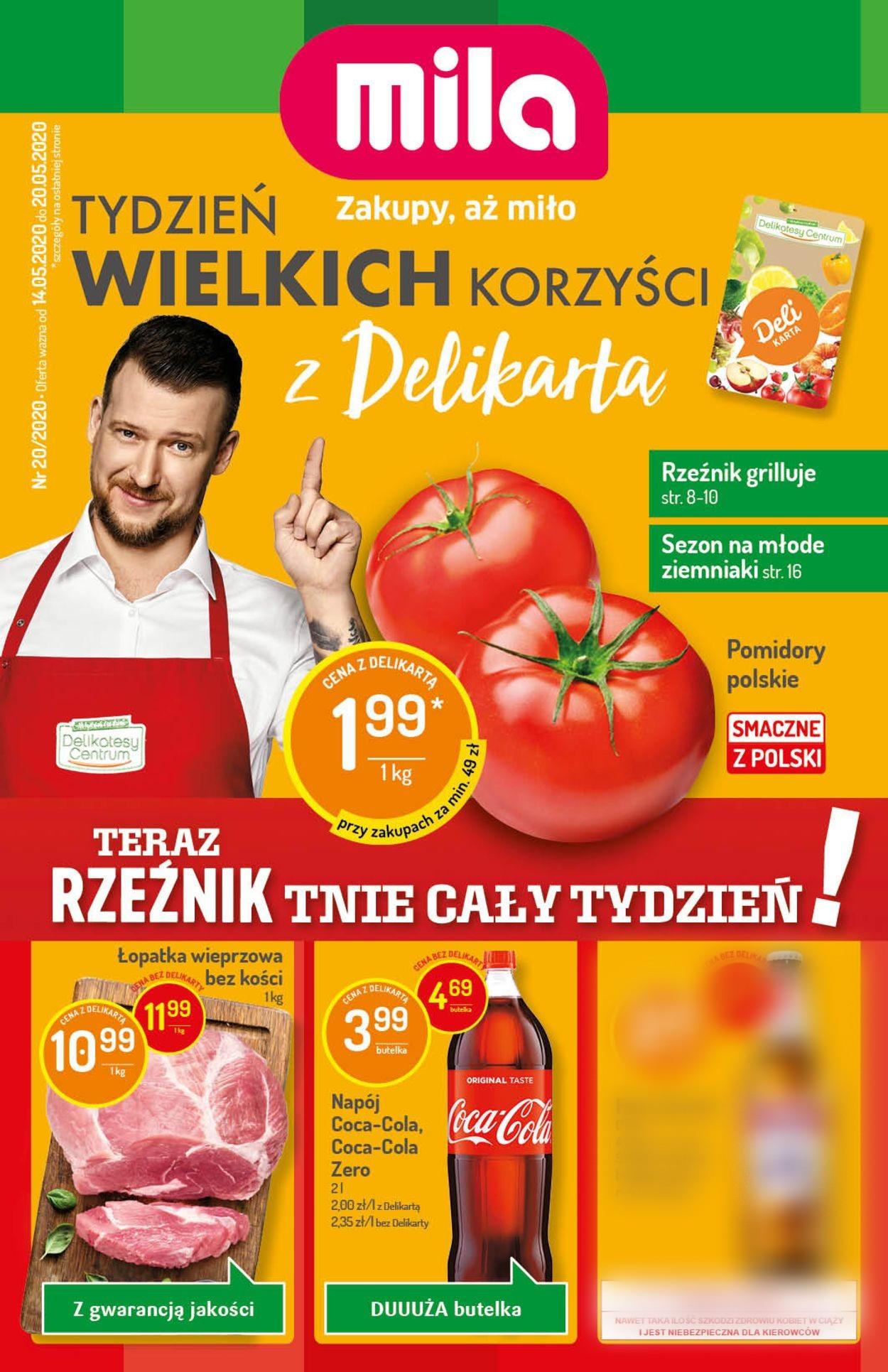 Gazetka promocyjna Mila - 14.05-20.05.2020