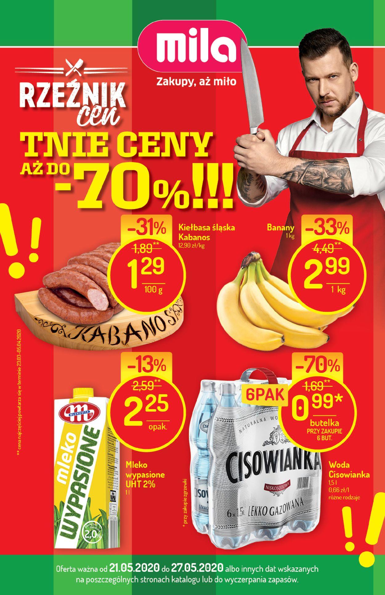 Gazetka promocyjna Mila - 21.05-27.05.2020