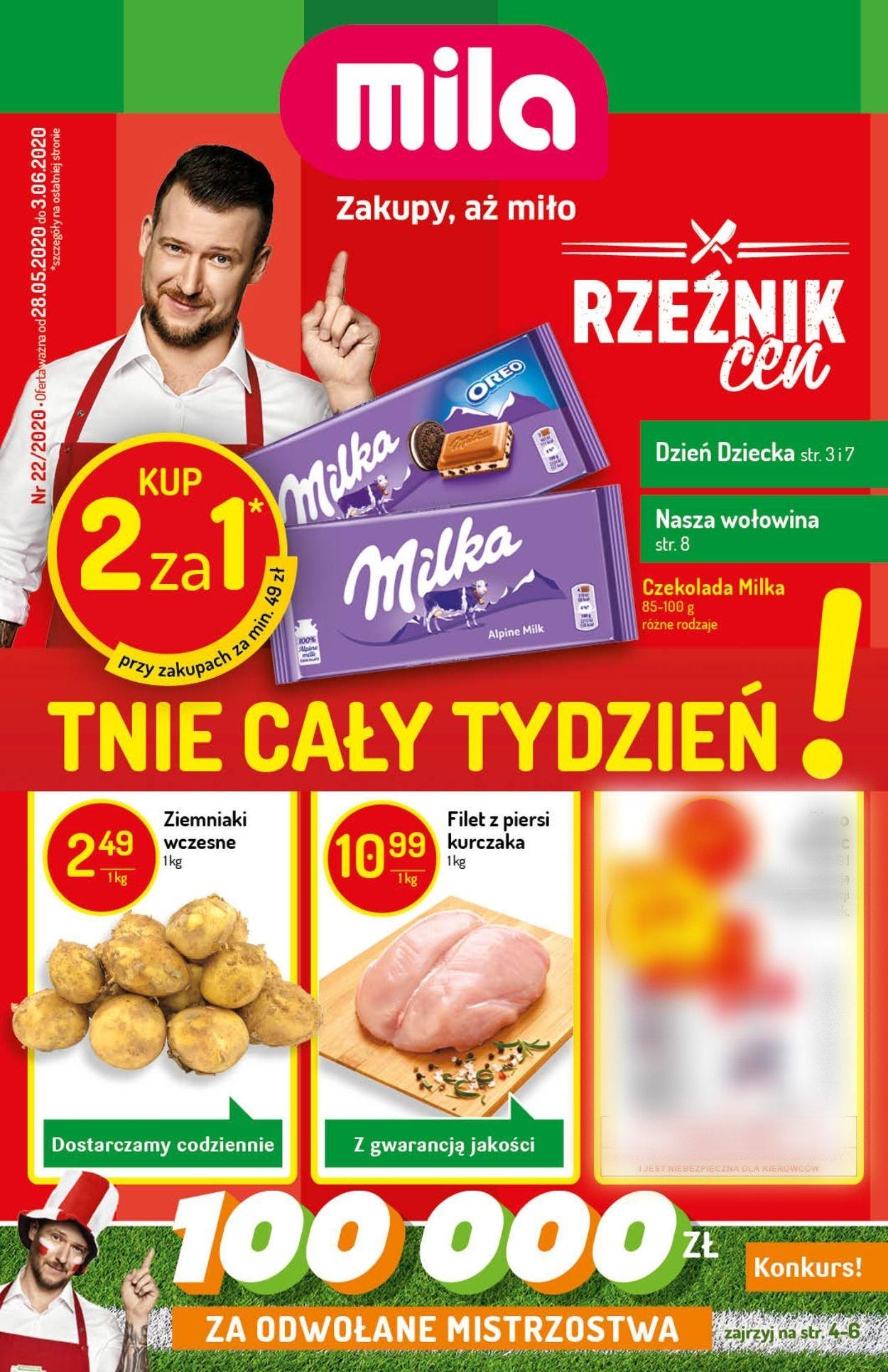 Gazetka promocyjna Mila - 28.05-03.06.2020