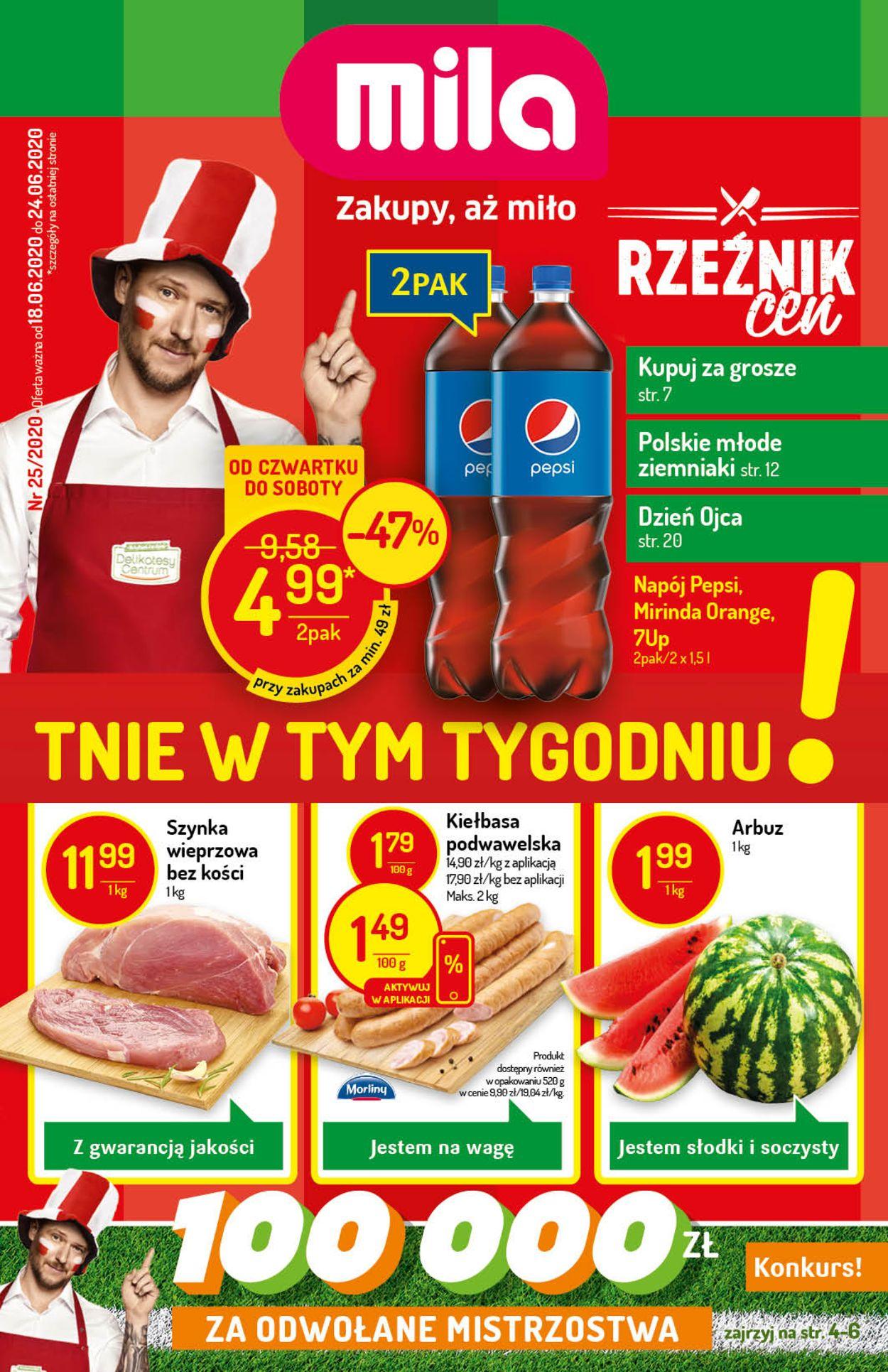 Gazetka promocyjna Mila - 18.06-24.06.2020