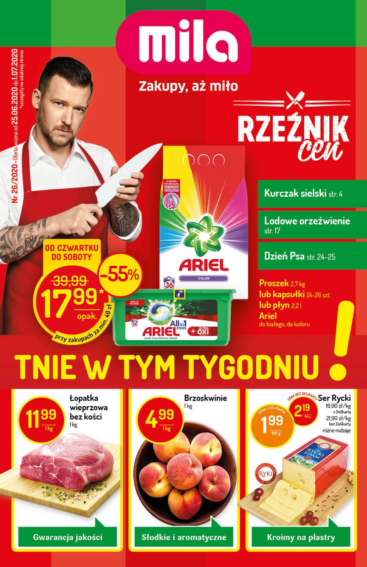 Gazetka promocyjna Mila - 25.06-01.07.2020