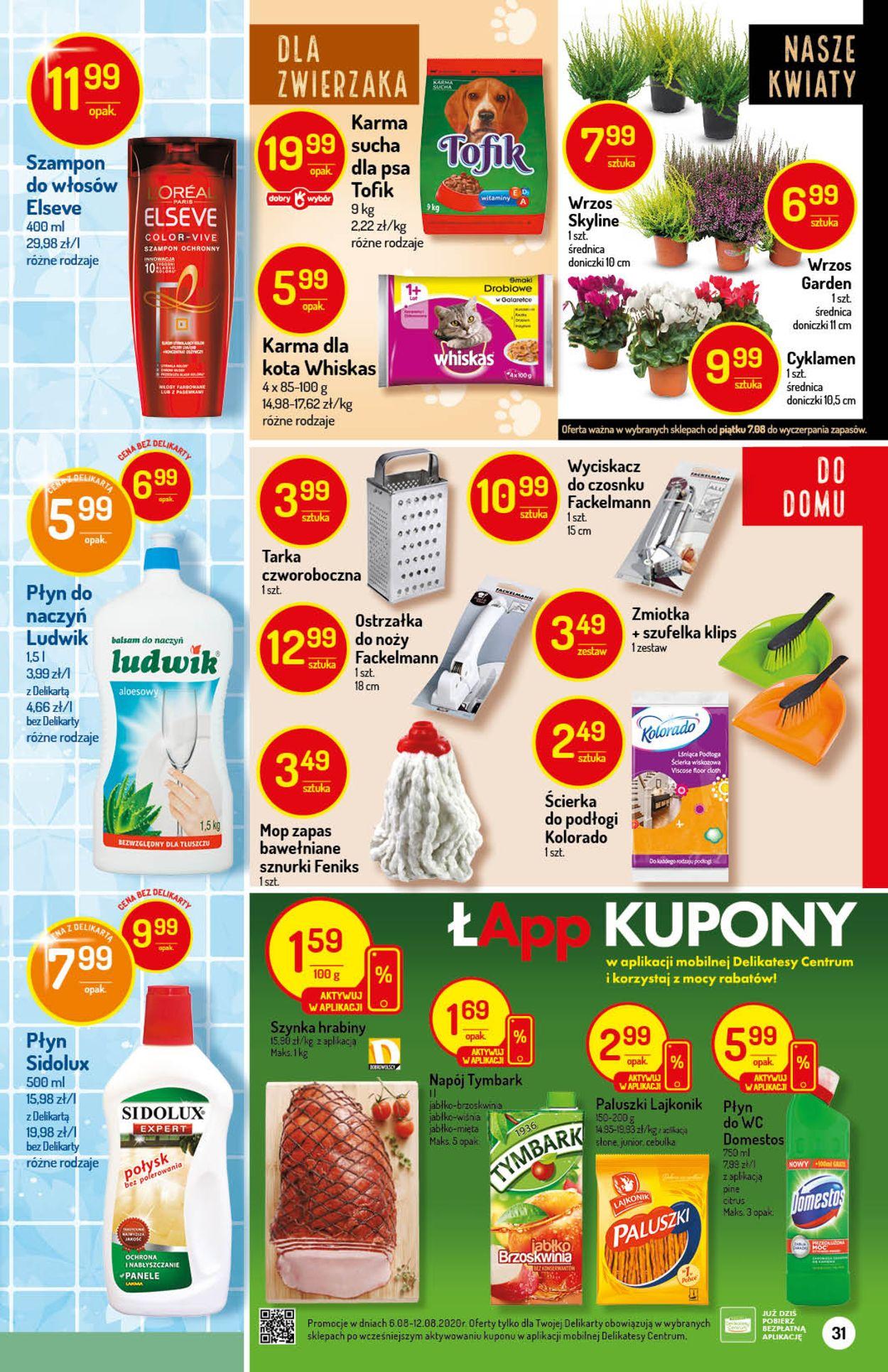Gazetka promocyjna Mila - 06.08-12.08.2020 (Strona 31)