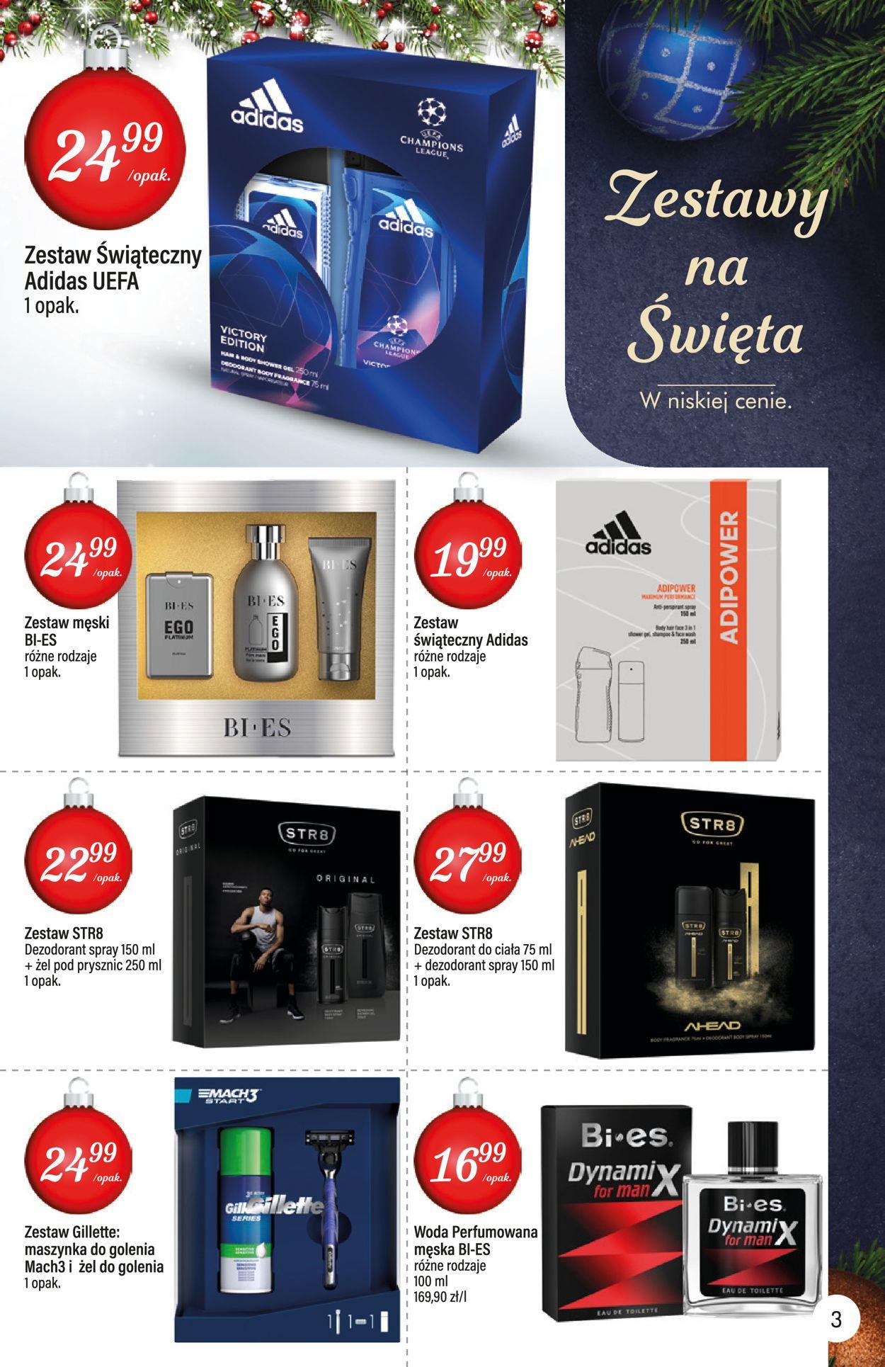 Gazetka promocyjna Mila - Gazetka Świąteczna 2019 - 10.12-24.12.2019 (Strona 3)