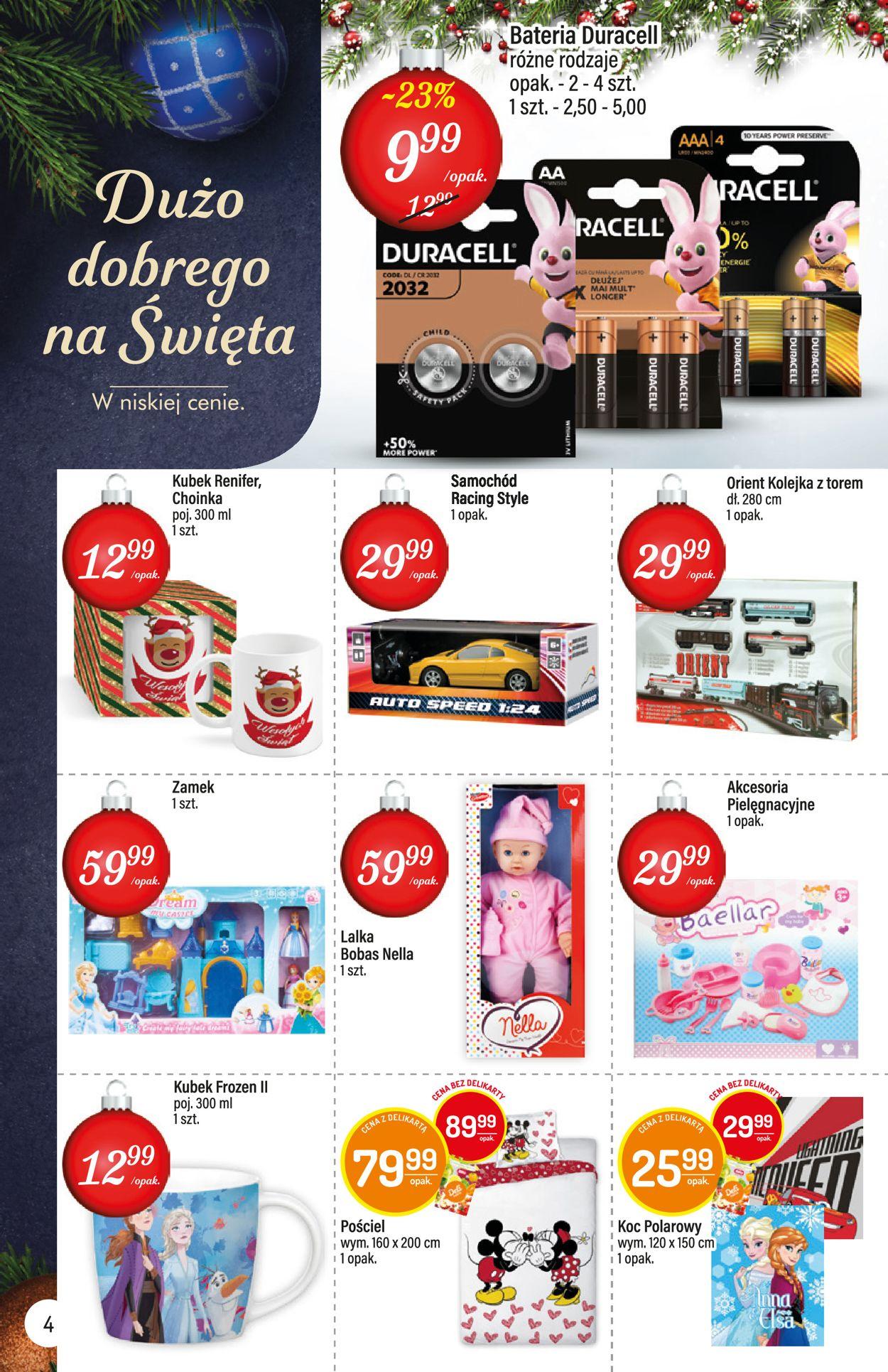 Gazetka promocyjna Mila - Gazetka Świąteczna 2019 - 10.12-24.12.2019 (Strona 4)