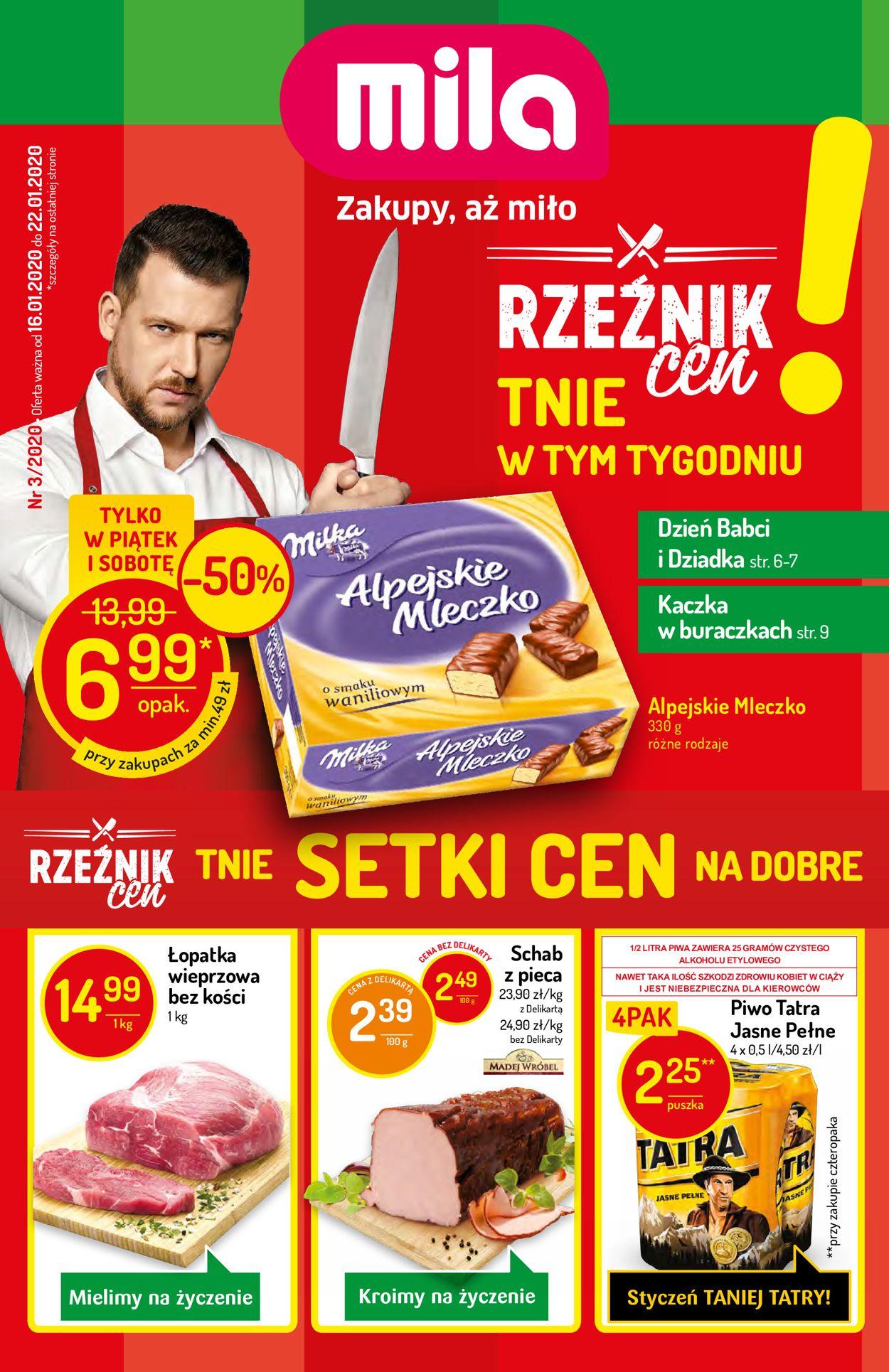 Gazetka promocyjna Mila - 16.01-22.01.2020