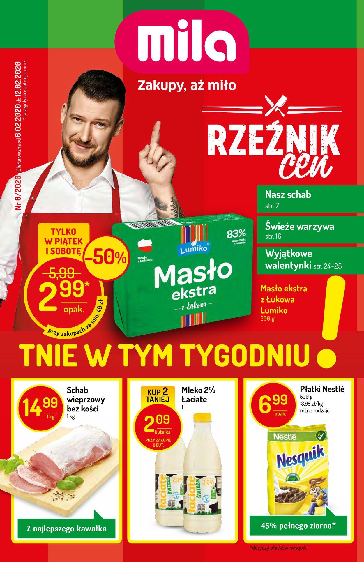 Gazetka promocyjna Mila - 06.02-12.02.2020