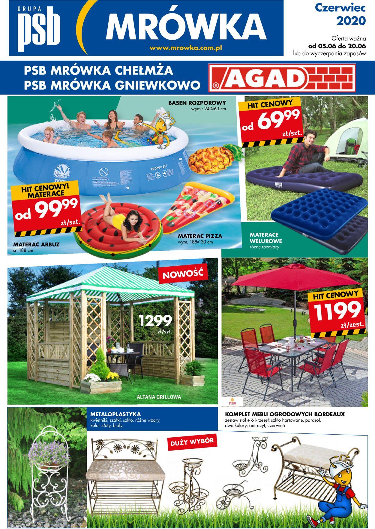 Gazetka promocyjna Mrówka - 05.06-20.06.2020