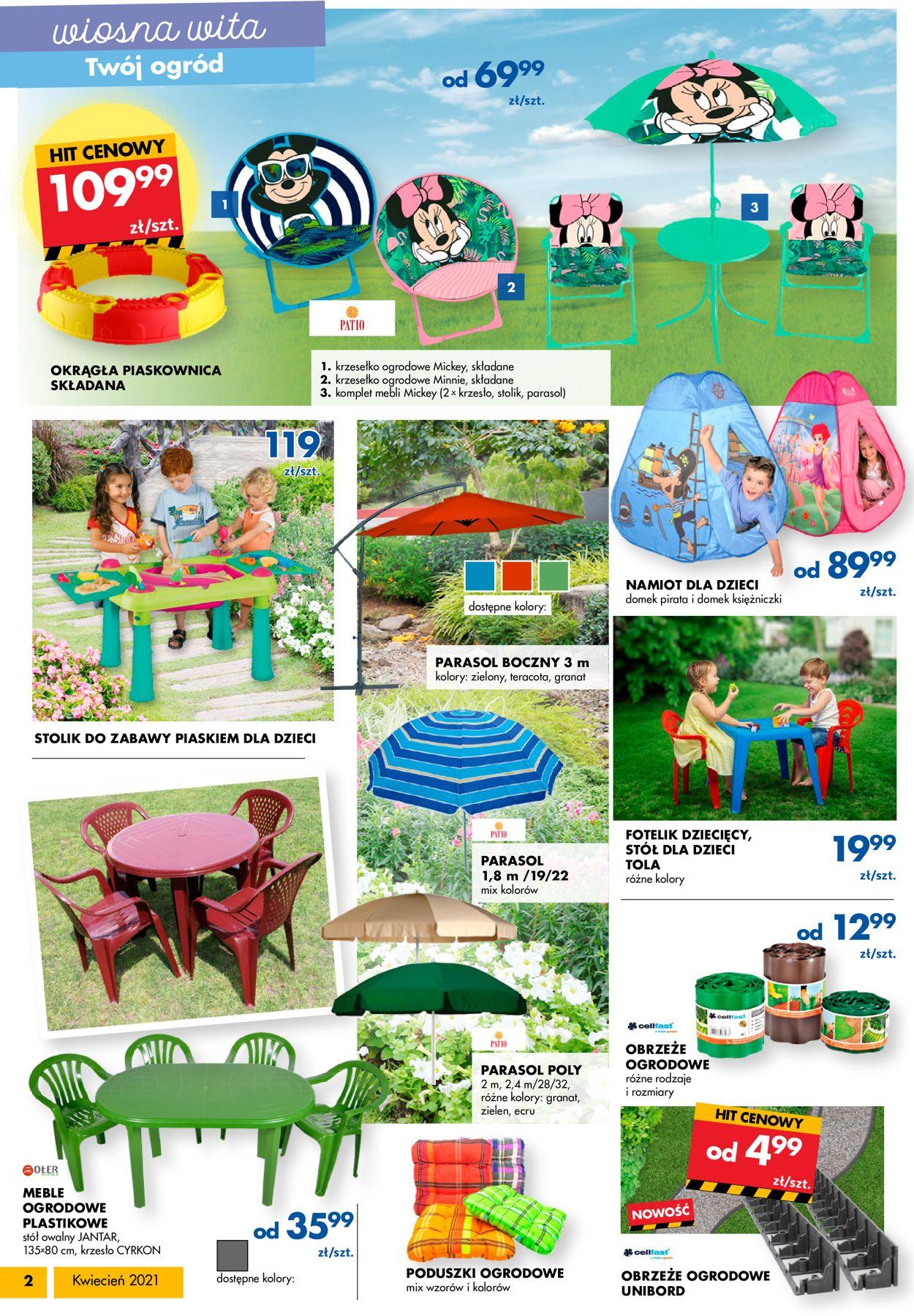 Gazetka promocyjna Mrówka - 09.04-25.04.2021 (Strona 2)