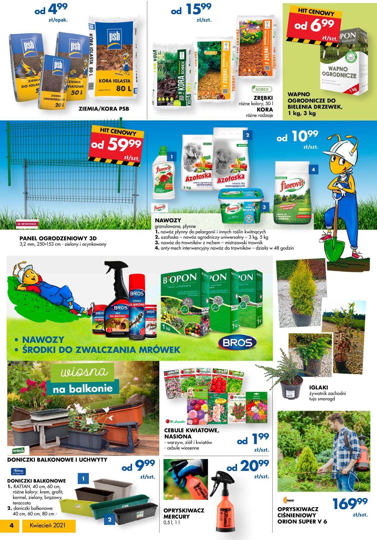 Gazetka promocyjna Mrówka - 09.04-25.04.2021 (Strona 4)