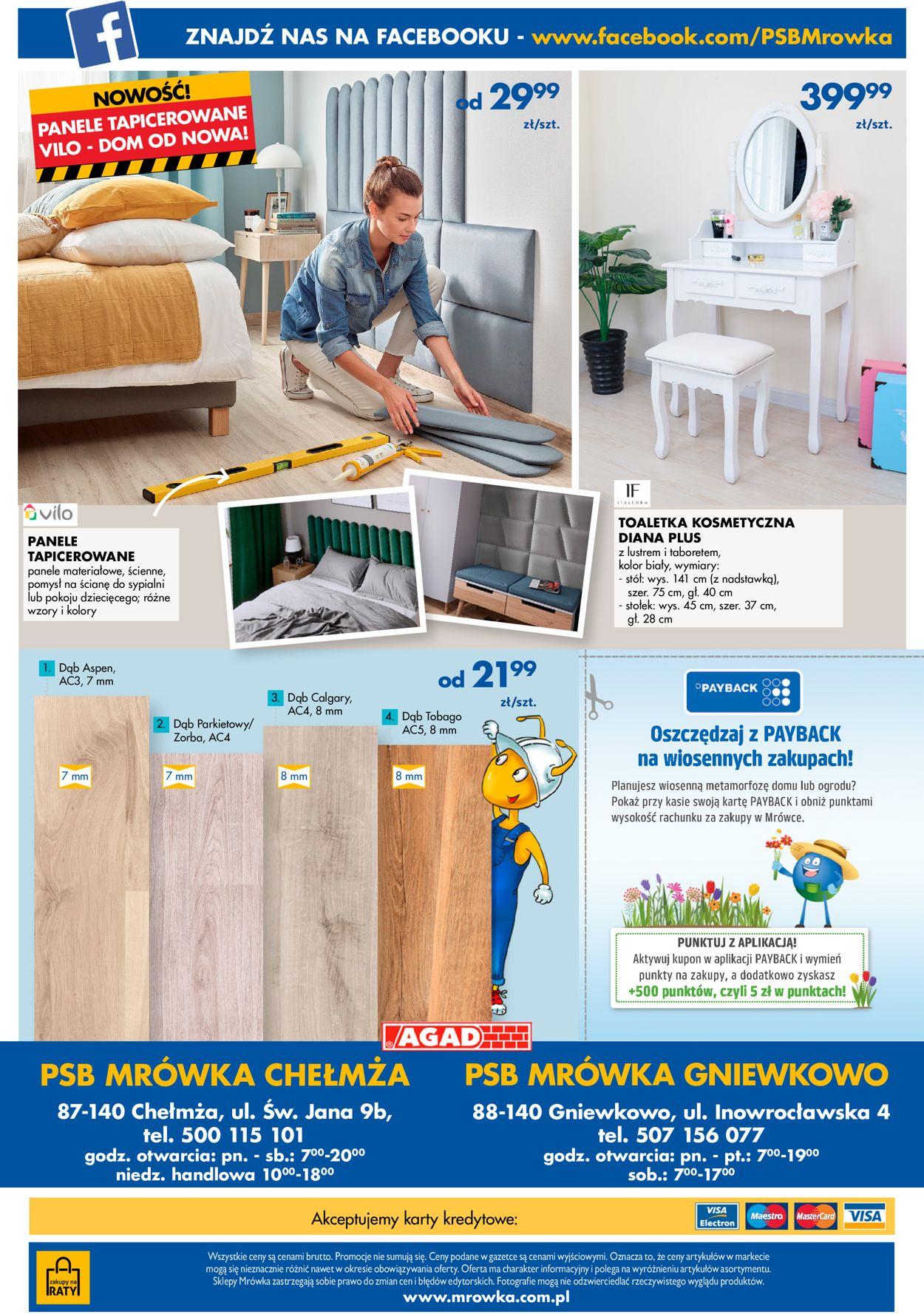 Gazetka promocyjna Mrówka - 09.04-25.04.2021 (Strona 12)
