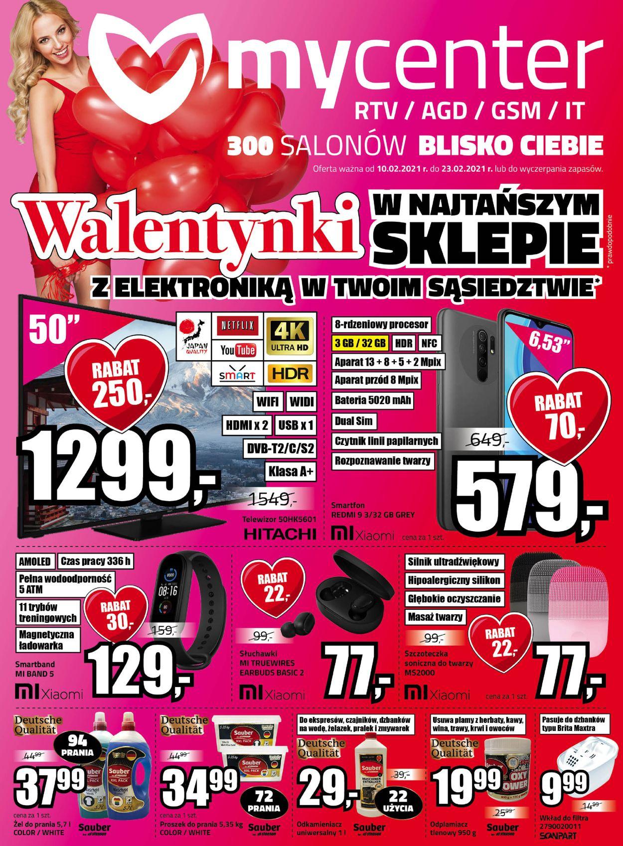 Gazetka promocyjna MyCenter Walentynki 2021 - 10.02-23.02.2021