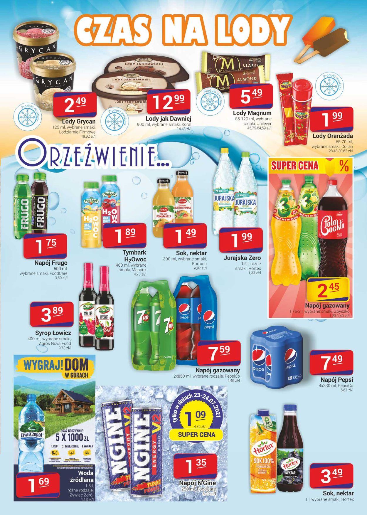 Gazetka promocyjna Nasz Sklep - 22.07-31.07.2021 (Strona 5)