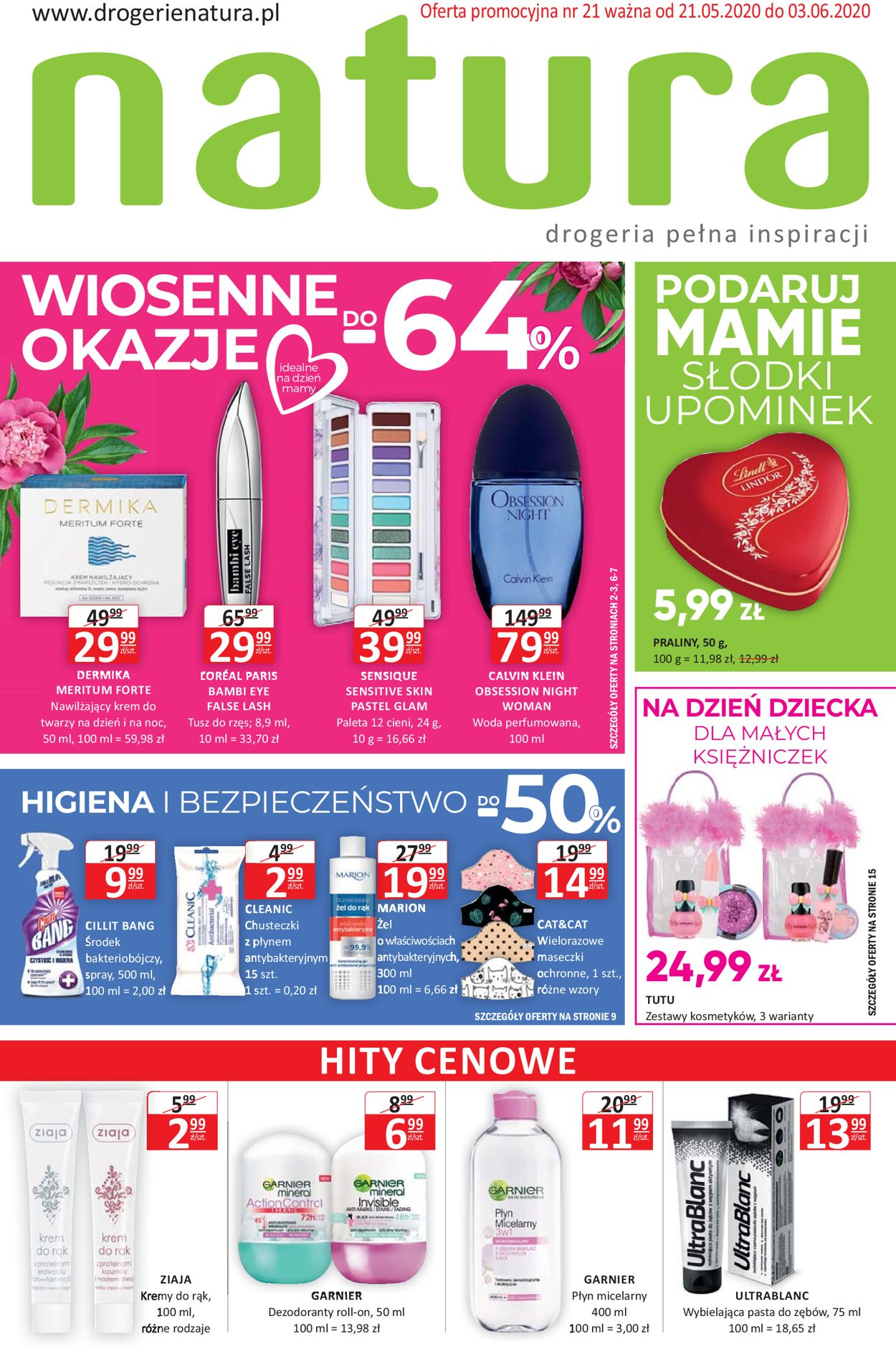 Gazetka promocyjna Natura - 21.05-03.06.2020