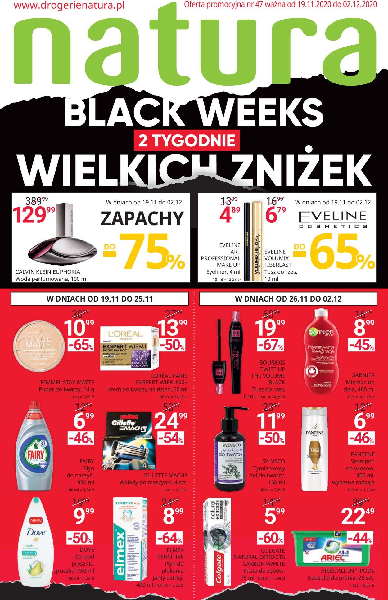 Gazetka promocyjna Natura - BLACK WEEKS 2020 - 19.11-02.12.2020